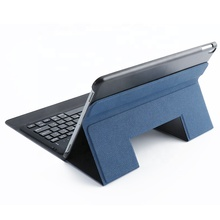 New Design Keyboard Leather Cover for ipad 9.7'' and 10.1'' with Wireless Connect Stand Function