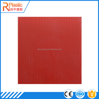 Durable thick corrugated heat resistant plastic sheet