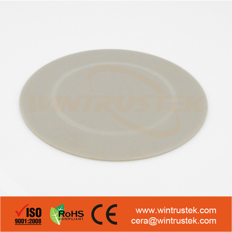 Thermal Conductivity >175 W/mk / Aluminium Nitride AlN Ceramic Wafer