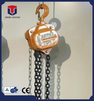 Alibaba hot sale 1 year warranty easy operate HS-VT chain block manual lifting mechanism with great price
