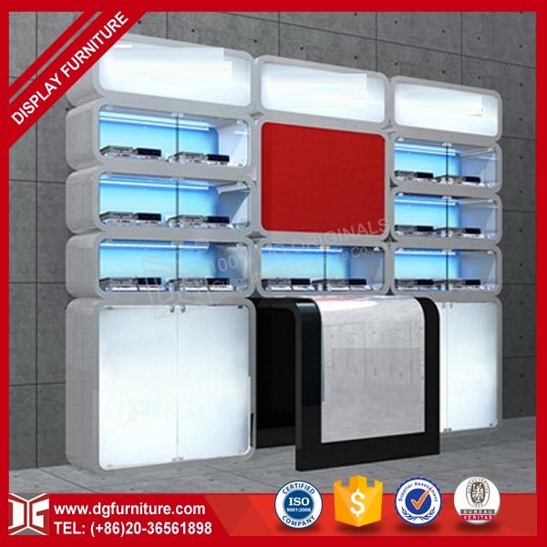 Unique Design Fashional Displays for Computer Shop Decoration