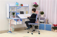 Ergonomic Cheap Height adjustable school study desk | reading table for kids