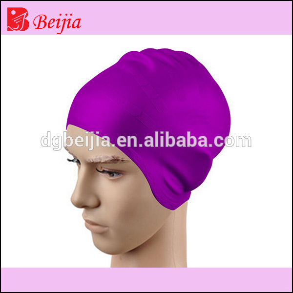 Professional swimming hat manufacturer Adult custom logo silicone swim caps