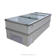 Supermarket Deep Chest Freezer With Glass Cover
