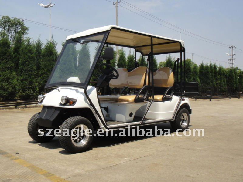 EEC Approved, electric utility vehicle ,EG2048HR-02, on road, street legal, homologation ,golf car ,48V 5.3KW, sepex system