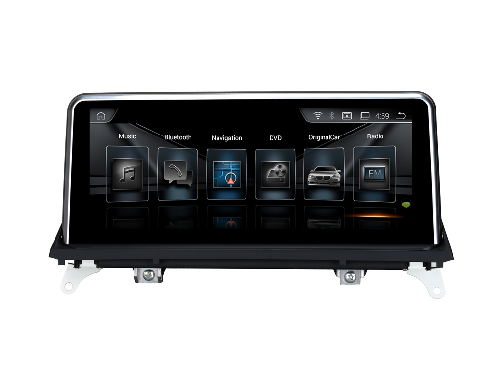 quad core <strong>android</strong> 7.1 car stereo touch screen for BMW X5 X6 E70 E71 (2007-2010) original Monitor multimedia headunit