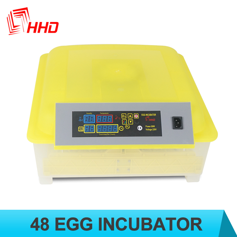 Small size 48 chicken duck bird egg incubator nigeria price for sale