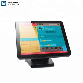 17 Inch Capacitive Low Cost Ultra Wide Pos Touch Screen Monitor