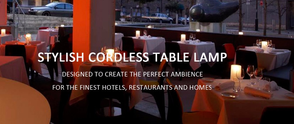 hotel led table lamp/restaurant led table lamp