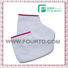 Paraffin treatment sock/spa cotton glove towel mitt