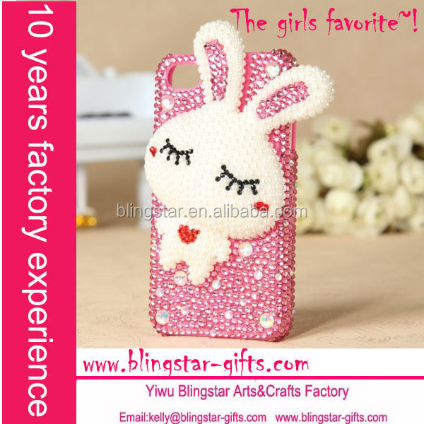 wholesale crystal 3d case cover for iphone 5