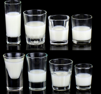 Haonai CE / EU,FDA,LFGB,SGS Eco-friendly shot glass