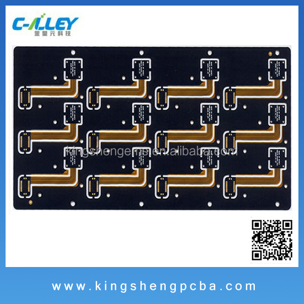 Custom design RoHS Compliant Rigid PCB, Flex with multiple LPI and Finish Options