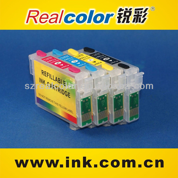 refillable cartridge for Epson Stylus SX125 ink cartridge suppliers china