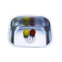 universal stainless steel small corner kitchen trough sinks