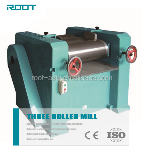 "Hand 3 roll mill 6"" roller dia. for painting grinding"