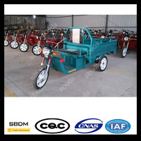 SBDM Best Selling Cheap Price Electric Flatbed Tricycle