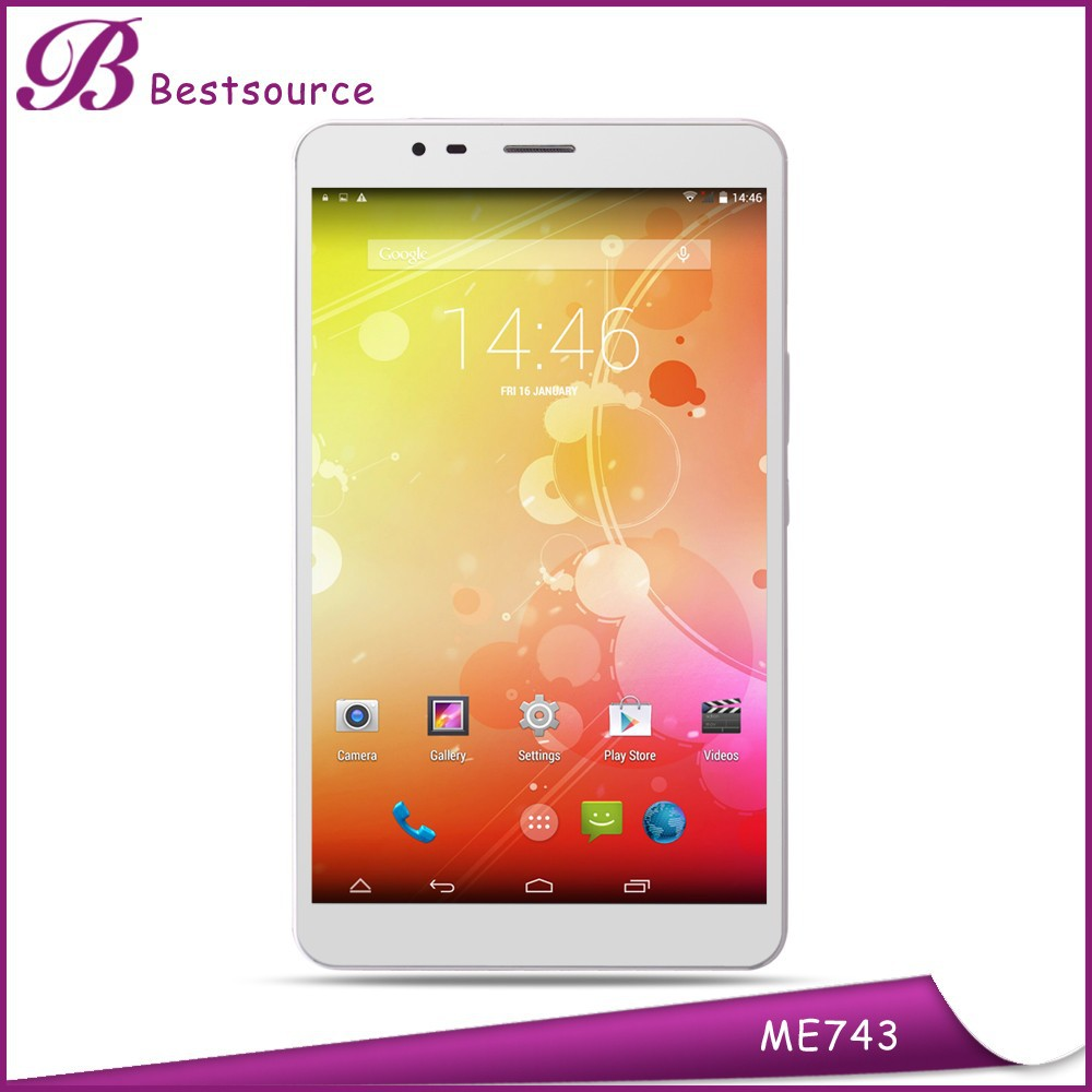 Good selling 7inch 1280*800IPS screen android 4.4 RAM1G ROM8G GSM WCDMA LTE phone call tablet pc with 13mp camera