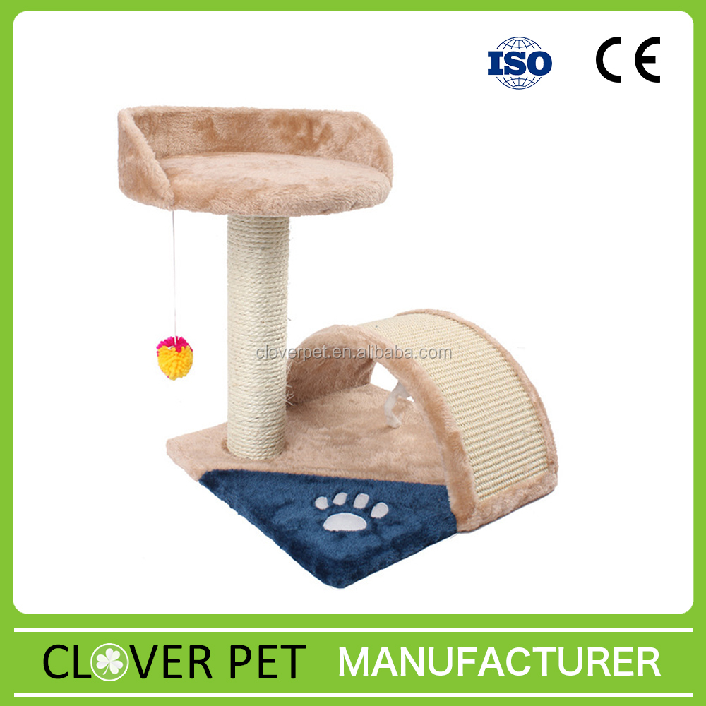 Hot sale Stuffed Cat Tree Cat House