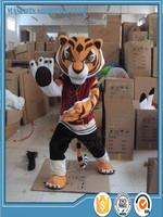 wholesale 2016 classic Tigress Tiger Kung Fu Panda Friend Halloween Cartoon cosplay Adult Animal mascot costume free shipping
