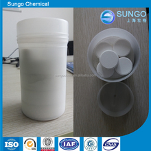 swimming pool disinfectant SDIC sodium dichloroisocyanurate 56% tablet