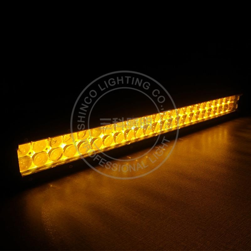 amber led light bar strobe white yellow light bar off road
