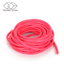 Factory price thin wall training tubing resistance thread natural rubber latex elastic tube band for fitness