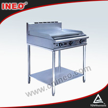Stainless Steel Fast Food Portable Industrial Gas Griddle