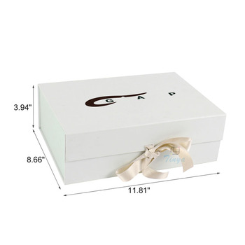 Cute storage baby clothes paper box
