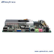 ZC-1037U-6C Thin Mini Itx Motherboard 6 COM ,Industrial Motherboard Support Windows,Linux System