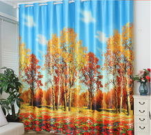 HOT SAEL !HIGH QUALITY blackout 3d curtains