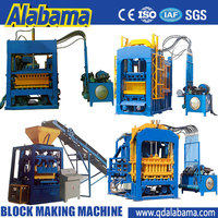 strong and unique structure save material full automatic interlocking brick production line