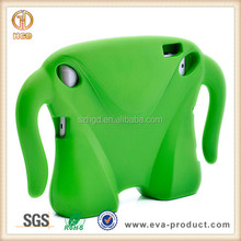 2014 new design cute EVA kid proof Green Superman guy for ipad case,for ipad 2 3 4