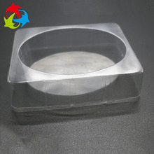 Custom Clear Disposable Round Plastic Tray Packaging For Soap