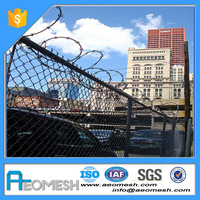 Eco-friendly F7 Foldable High Quality Used Chain Link Fence Gates