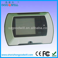 2.4 inch door viewer peephole glass len shenzhen goodwill