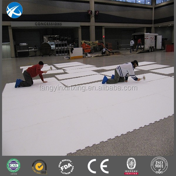 Wholesale price synthetic ice rink / synthetic ice rink panels / hockey skate rink board
