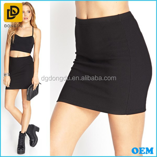 Latest sexy skirt design pictures young girls in mini skirt fashion short black tight skirts