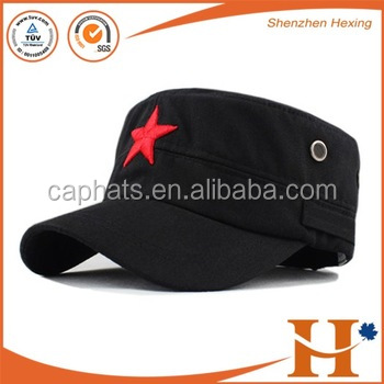 Custom fashion blank military snapback cap/hat