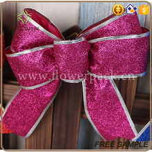 wholesale christmas item bulk christmas stockings glitter christmas bow