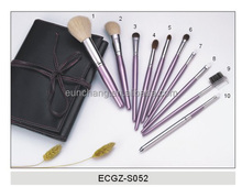 Beauty professional make up brush set for comestic