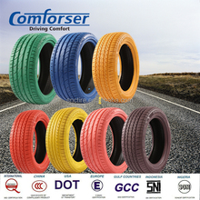 Wholesale Comforser cheap color tires for passenger cars