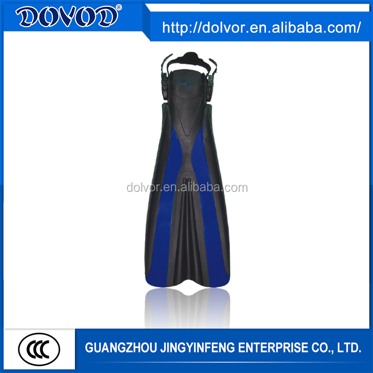 PP + TPR or silicone material diving equipment diving silicone swim fins