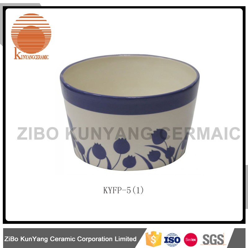 Manufacturer cement plastic small clay flower pot