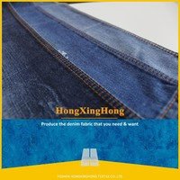 NO.A2109 China supplier cotton polyester denim fabric stock lot