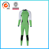 Excellent Quality Flatlock Stitching Neoprene Diving Wetsuit With Zipper