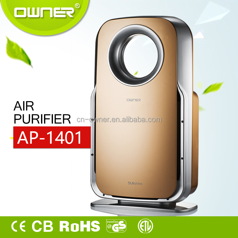 High Efficiency Home Appliance Hepa Home anion Air Purifier air cleaner with uv