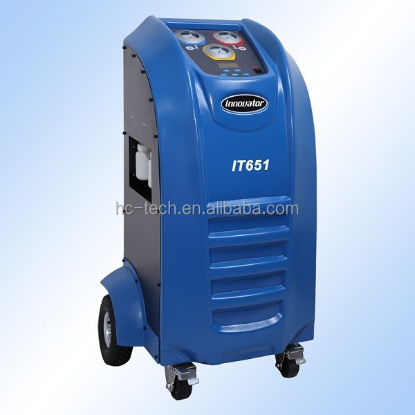 Auto refrigerant ac recycling machine with CE certificate