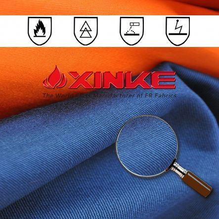 functional 100 cotton anti-static flame retardant fabric