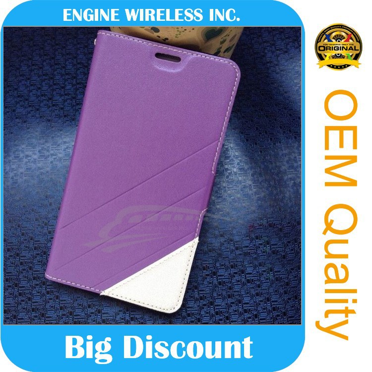 genuine phone leather case for blu tank 4.5 escrow service